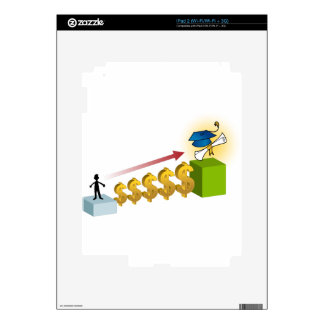 Student Financial Aid Goal Graphic iPad 2 Skins