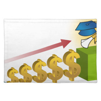 Student Financial Aid Goal Graphic Cloth Placemat