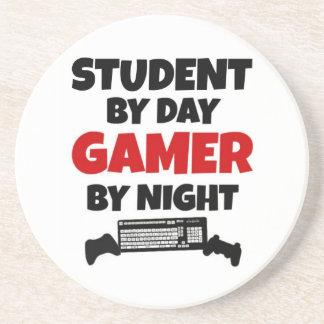 Student Gamer Sandstone Coaster