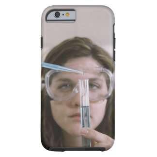 Student Holding Test Tube Tough iPhone 6 Case
