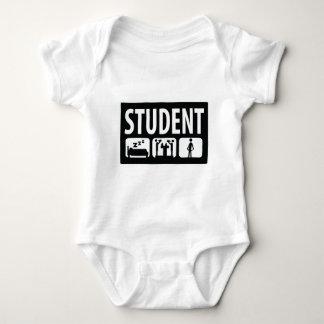 student icon baby bodysuit