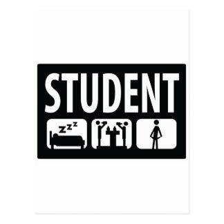 student icon postcard