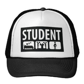 student icon trucker hat