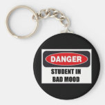 Student in Bad Mood! Key Chains