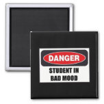 Student in Bad Mood Magnet