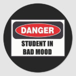 Student in Bad Mood! Stickers