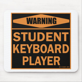 Student Keyboard Player Mousepads