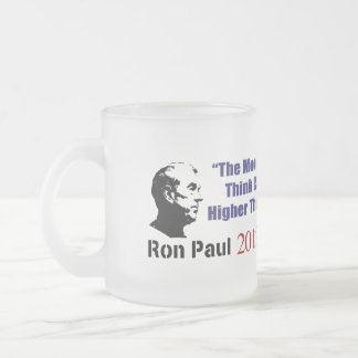 Student Loans Goldie Taylor Ron Paul 2012 10 Oz Frosted Glass Coffee Mug