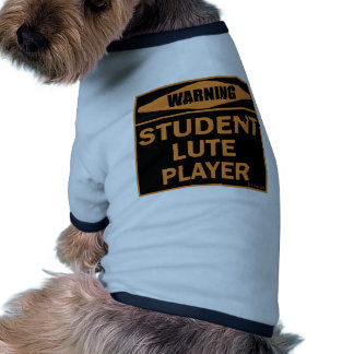 Student Lute Player Pet Clothing