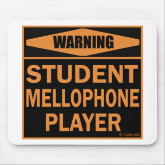 Student Mellophone Player Mouse Pad