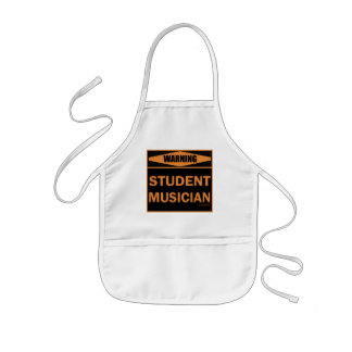 Student Musician Kids' Apron
