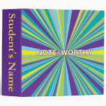 Student Notes Vinyl Binder