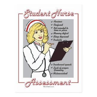 Student Nurse Assessment Postcards