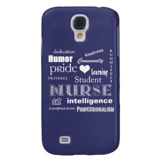 Student Nurse-Attributes /Amethyst Samsung Galaxy S4 Case