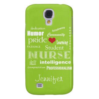 Student Nurse Attributes/Personalize Name Samsung S4 Case