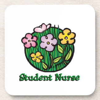 Student Nurse Blooms Coaster