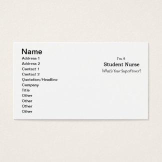 Student Nurse Business Card