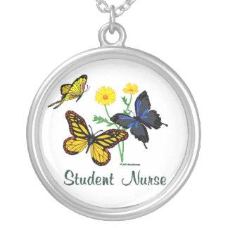 Student Nurse Butterflies Necklace