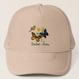 Student Nurse Butterflies Trucker Hat