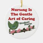 Student Nurse Christmas Tree Ornament