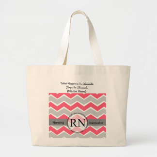 Student Nurse Clinical Customizable Tote Jumbo Tote Bag