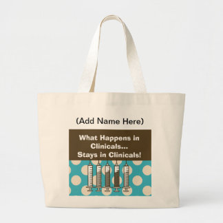 Student Nurse Clinical Instructors Tote Jumbo Tote Bag