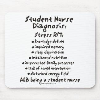 Student Nurse Diagnosis: Stress Mouse Pad