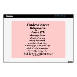 Student Nurse Diagnosis: Stress Skin For Laptop