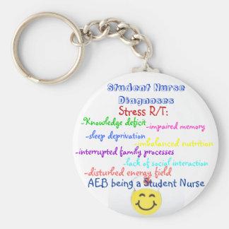 Student Nurse Dx Basic Round Button Keychain