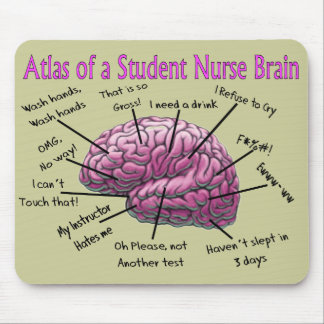 Student Nurse Gifts Mouse Pad