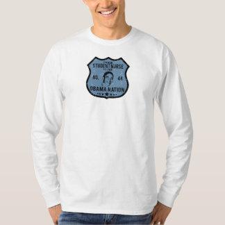 Student Nurse Obama Nation T-Shirt