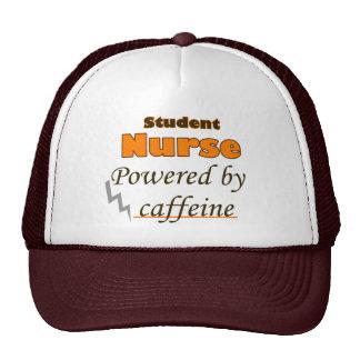 Student Nurse Powered by caffeine Trucker Hat