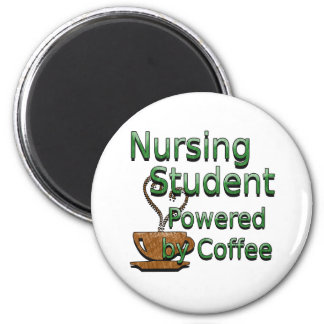 Student Nurse Powered by Coffee Magnet