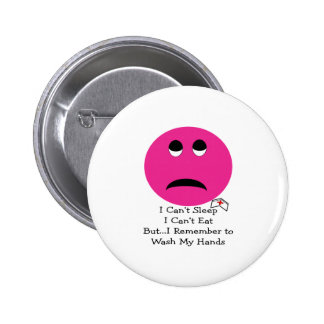 Student Nurse Smiley Face Gifts Pinback Button
