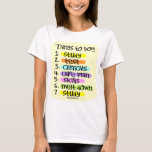 Student Nurse To Do List T-Shirt