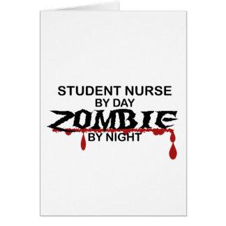 Student Nurse Zombie Card
