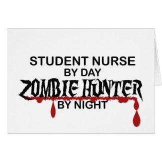 Student Nurse Zombie Hunter Card
