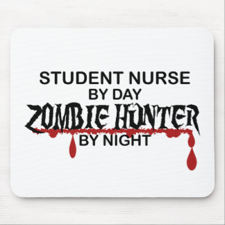 Student Nurse Zombie Hunter Mouse Pad