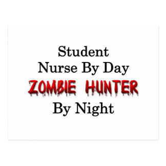 Student Nurse/Zombie Hunter Postcard