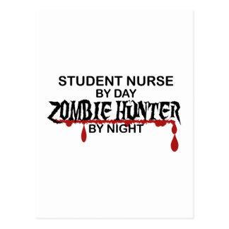 Student Nurse Zombie Hunter Postcard