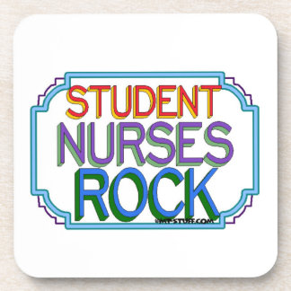 Student Nurses Rock Beverage Coaster
