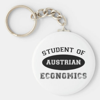 Student of Austrian Economics Basic Round Button Keychain