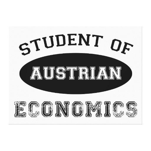Student of Austrian Economics Canvas Print