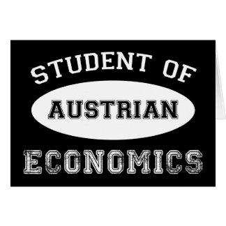 Student of Austrian Economics Card