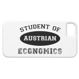 Student of Austrian Economics iPhone 5 Case