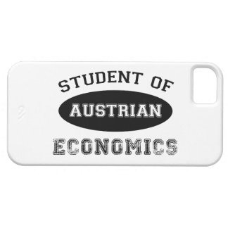 Student of Austrian Economics iPhone 5 Cases