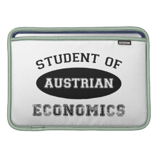 Student of Austrian Economics Sleeves For MacBook Air