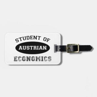 Student of Austrian Economics Luggage Tag