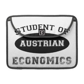 Student of Austrian Economics Sleeve For MacBooks