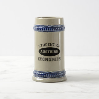 Student of Austrian Economics Coffee Mugs